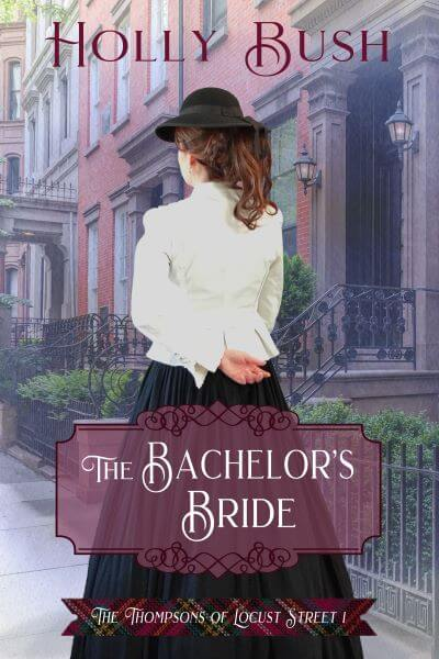 "A quickfire Q&A | conversing about the Historical Romance: ""The Bachelor's Bride"" (The Thompsons of Locust Street, Book One) by Holly Bush"