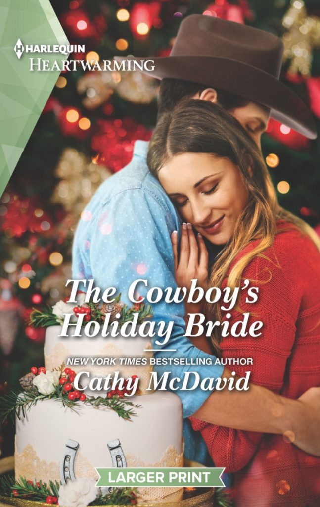 "An early #blogmas book review | feat. #HarlequinHeartwarming author Cathy McDavid's ""The Cowboy Holiday Bride"" (Wishing Well Springs, Book One)"