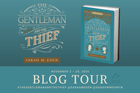 The Gentleman and the Thief blog tour banner provided by Austenprose and is used with permission.