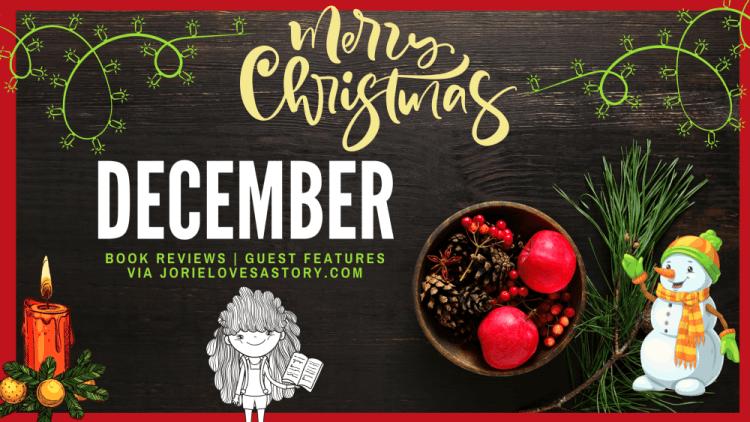 December Blog Calendar banner created by Jorie in Canva.
