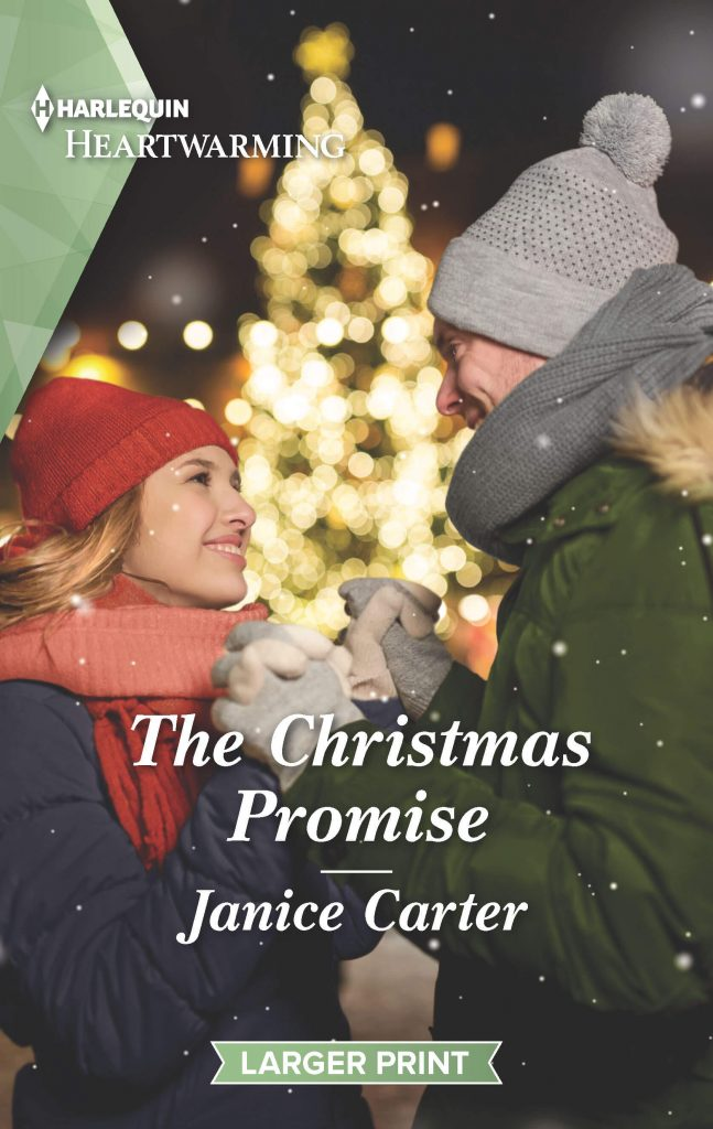 "A bit more #blogmas this #RomanceTuesdays feat. #HarlequinHeartwarming | ""The Christmas Promise"" by Janice Carter"