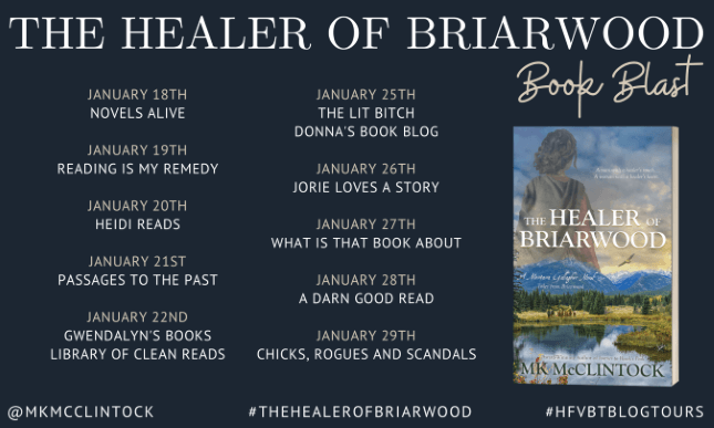 The Healer of Briarwood_Book Blast Banner provided by HFVBTs and is used with permission.