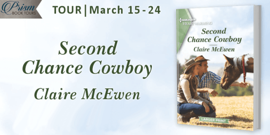 Second Chance Cowboy blog tour banner provided by Prism Book Tours and is used with permission.