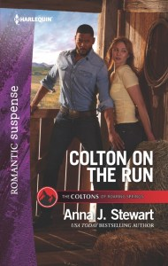 Colton on the Run by Anna J. Stewart