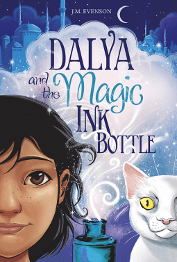 "A #WyrdAndWonder Book Review | Exploring #MiddleGrade Fantasy within ""Dalya and the Magic Ink Bottle"" by J.M. Evenson; courtesy of #NetGalley"