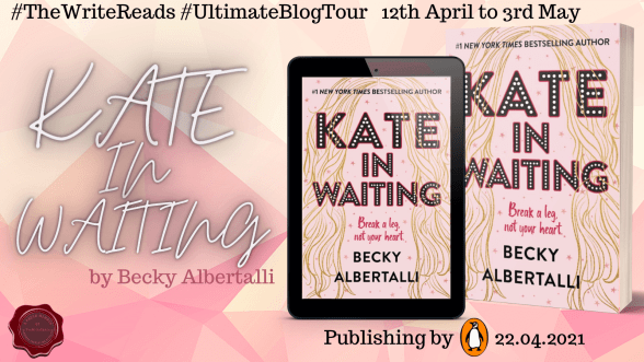 Kate in Waiting blog tour banner provided by The Write Reads and is used with permission.