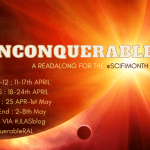 Unconquerable Sun RAL banner created by Jorie in Canva.