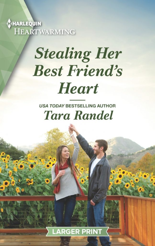"A #25PagePreview #HarlequinHeartwarming #RomanceTuesdays | ""Stealing Her Best Friend's Heart"" (Golden Matchmaker's Club series, Book One) by Tara Randel"