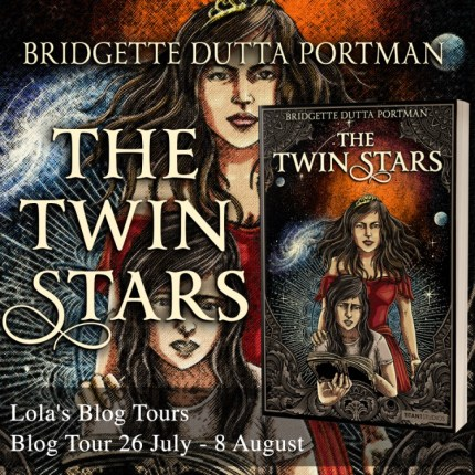 The Twin Stars blog tour badge was provided by Lola's Blog Tours and is used with permission.