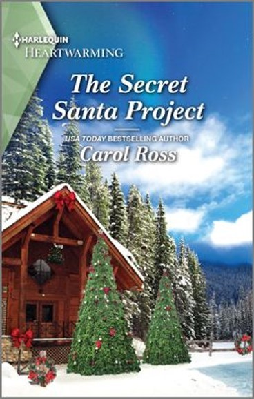 "This #SaturdaysAreBookish features #HarlequinHeartwarming | ""The Secret Santa Project"" (Seasons of Alaska, Book Eight) by Carol Ross"