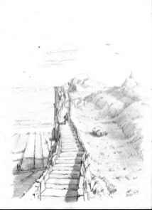 Upstairs 2 (Bleistift)
