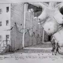 Urbane Geburt (Bleistift)