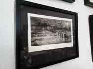 Ätzradierung, Strichätzung, Aquatinta, Vernis Mou, uhnen an der Ostsee, Bildmaß, ca. 15 x 25 cm