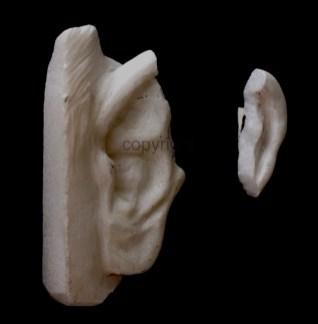Marmor, Titel: Marmo(h)r, Homage