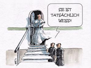 Weiße Weste...