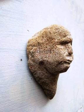 Bildhauerei Kopf