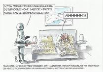 Robotic . Der Weckdienst