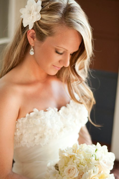 1920s romance white bridal bouquet | Jessica Ormond Events | Coral Lee Carlson Photography