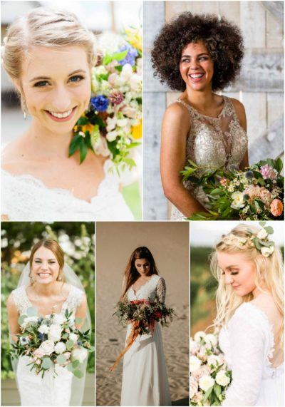 8 ways to tell if you are a Jessica Ormond Events bride - part 1. Photographers: Lissa Anglin (top left), Caitlin & Ryan (top right), Allee J (bottom left), Forever Photography (bottom center), Emily Koontz (bottom right)