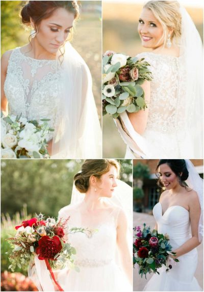8 ways to tell if you are a Jessica Ormond Events Bride - Party 2. Photographers: Tara Hobgood (top right), Allee J (top left), Emily Koontz (bottom right), Greenhouse Creative (bottom left)