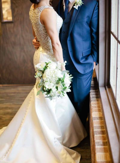 Winter Wedding Elegance | Lubbock, TX