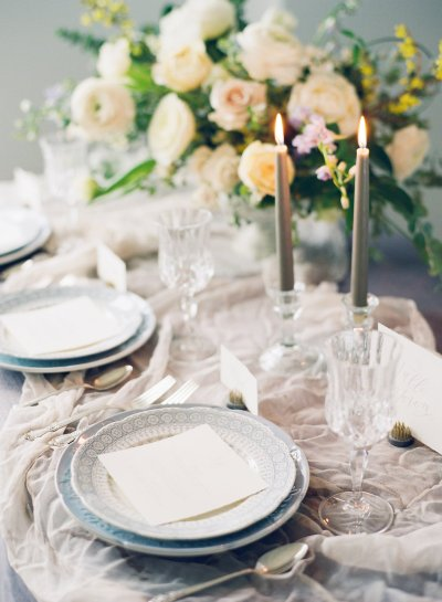 Elegant table. Photo by Kelly Sweet.