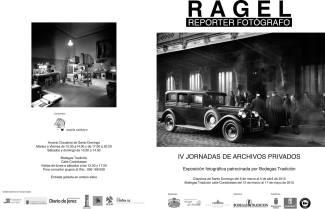 Folleto Exposición Ragel IV Jornadas Archivos Privados