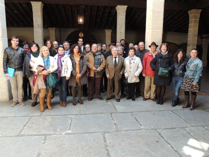 Visita González Byass en Actividad de las II Jornadas de Archivos Privados