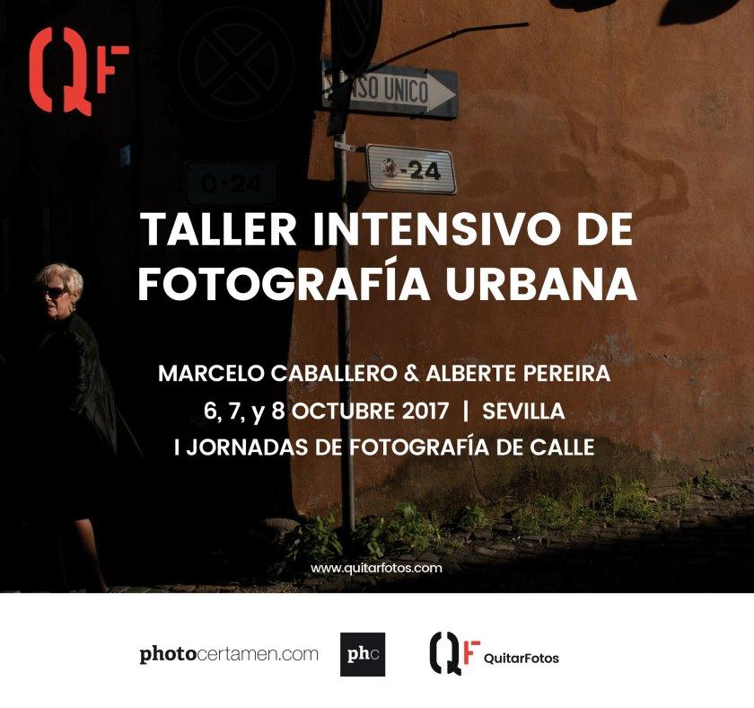 Taller intensivo de Fotografía Urbana · Sevilla