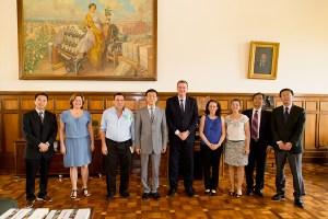 USP em Piracicaba busca parceria com universidade chinesa