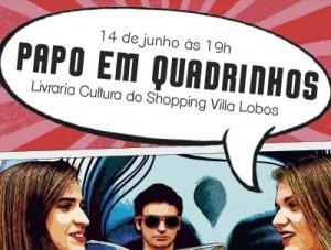Evento em São Paulo discute histórias em quadrinhos