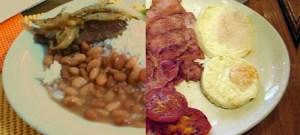 Brasileiro se alimenta um pouco melhor que o britânico, mas também come mal