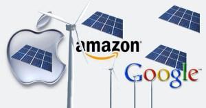 Gigantes da tecnologia buscam baratear custos com energias renováveis