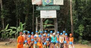 Alunos da USP realizam curso de manejo florestal na Amazônia