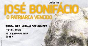 José Bonifácio é tema de palestra no Engenho dos Erasmos