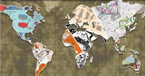 Cartografia mapeia relações de poder de um mundo em crise