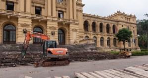 Museu do Ipiranga dá início às obras de restauro do edifício-monumento