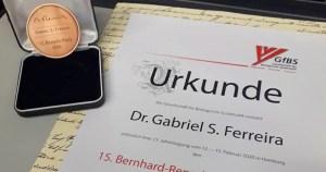 Pesquisador da USP ganha prêmio na Alemanha com pesquisa sobre evolução das tartarugas