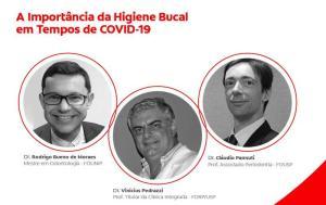 Evento on-line aborda importância da saúde bucal na pandemia da covid-19