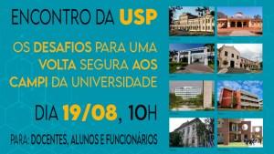 USP apresenta desafios para o retorno seguro aos campi da Universidade