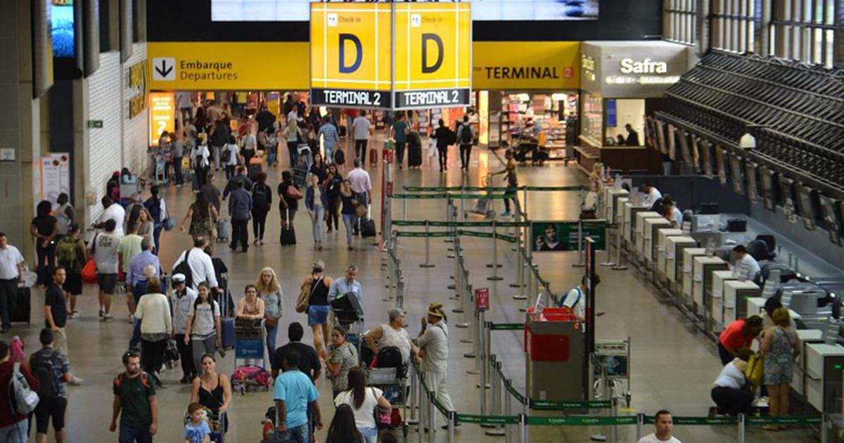 São Paulo - O Aeroporto Internacional de São Paulo foi apontado como o melhor aeroporto do Brasil na categoria acima de 15 milhões de passageiros por ano, de acordo com Relatório de Desempenho Operacional dos Aeroportos (Rovena Rosa/Agência Brasil)