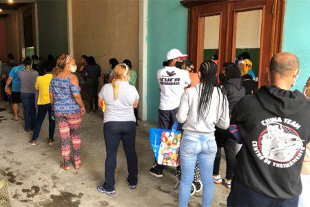 Feira Solidária na Favela São Remo promovida pelo Projeto Preta.ID - Foto: Preta.ID