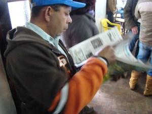 Lançamento do Jornal Alfredo Wagner na Festa do Colono em 2010