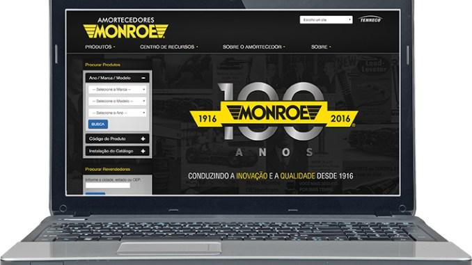 Monroe lança nova versão do seu site , monroe, website