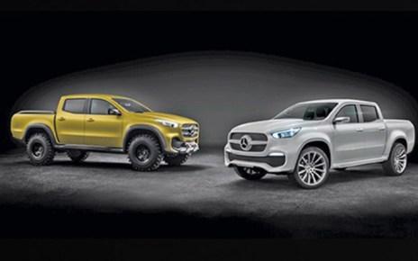 Mercedes-Benz Concept X-CLASS , concerpt, picape premium,