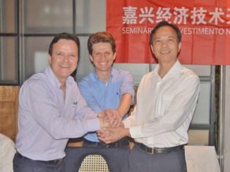 delegação chinesa, gauss