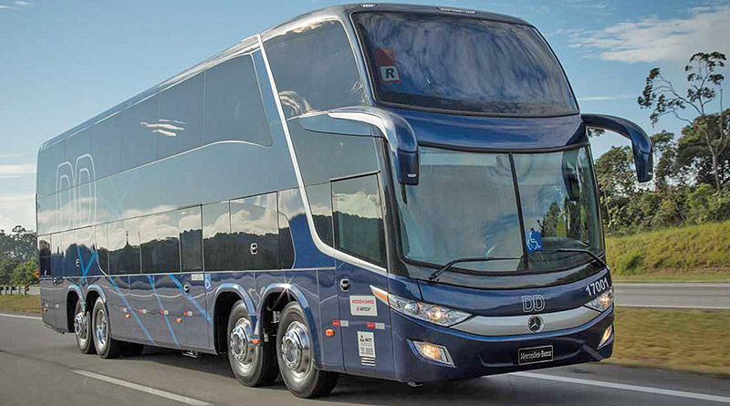 Mercedes Benz planeja-vender-8 mil-ônibus