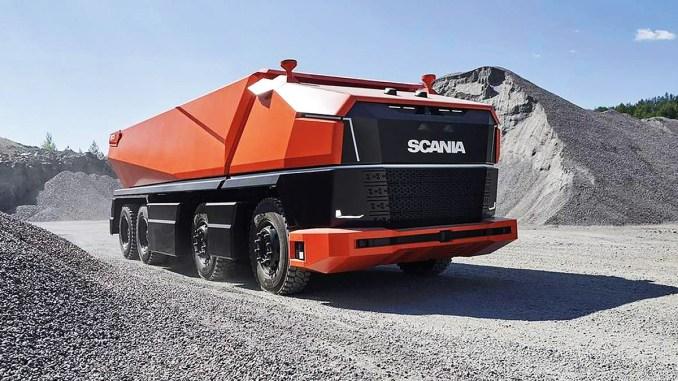 scania caminhão autônomo 2019