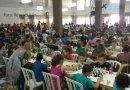 Enxadristas de 14 instituições participam do municipal de xadrez rápido em Fraiburgo