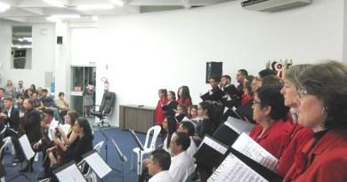 Concerto de Natal em Caçador no domingo dia 17